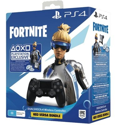 Sony Dualshock 4 v2 для PlayStation 4 + Fortnite Neo Versa