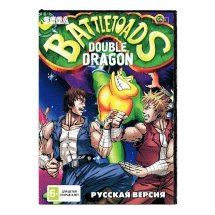Картридж для Sega Battletoads Duble Dragon