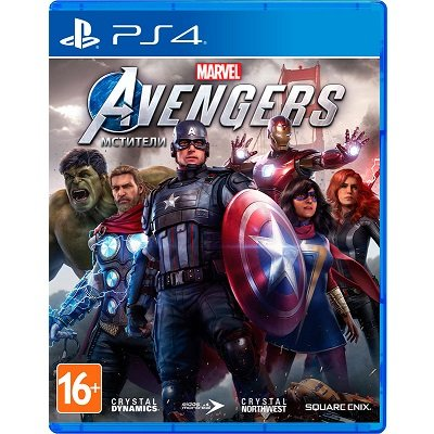 Мстители Marvel [PS4, русская версия]
