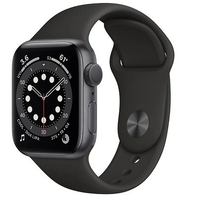 Часы Apple Watch Series 6 GPS 40mm Aluminum Case with Sport Band Серый космос