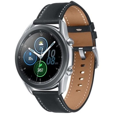 Samsung Galaxy Watch3 45mm (SM-R840NZSACIS) серебристый/черный