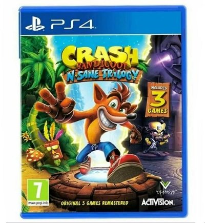PS4 игра Activision Crash Bandicoot N'sane Trilogy