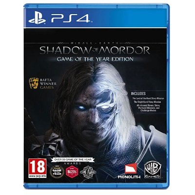 Middle-earth: Shadow of Mordor GOTY (Game of the Year Edition) [PS4,русские субтитры]